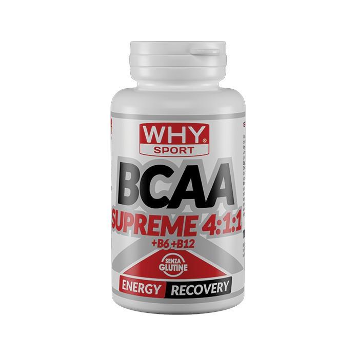 WHYSPORT BCAA SUPREME 4:1:1 + B6 + B12 100 COMPRESSE - Farmalke.it