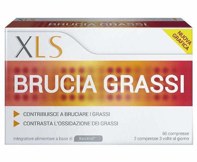 XLS BRUCIA GRASSI 60 CAPSULE TAGLIO PREZZO - Farmacielo