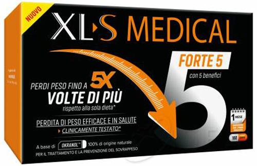 XLS MEDICAL FORTE 5 180 CAPSULE - Farmacia Centrale Dr. Monteleone Adriano