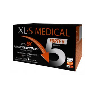 XLS MEDICAL FORTE 5 180 Capsule Integratore per Dimagrire Perdere Peso - Farmastar.it