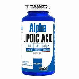 YAMAMOTO NUTRITION ALPHA LIPOIC ACID 100 CAPSULE - Farmacia Massaro