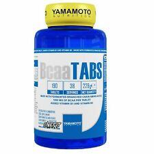 YAMAMOTO NUTRITION BCAA TABS 190 COMPRESSE - Farmacia Massaro