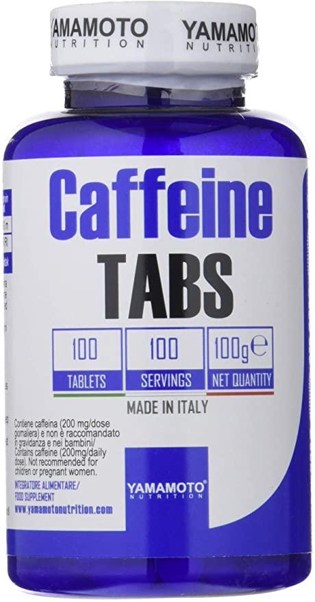 YAMAMOTO NUTRITION CAFFEINE TABS 100 TAVOLETTE - Farmacia Massaro