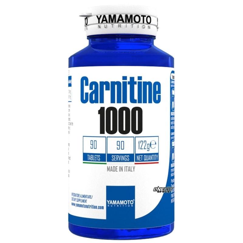 YAMAMOTO NUTRITION CARNITINE 1000 90 COMPRESSE - Farmacia Massaro