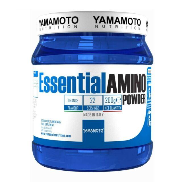 YAMAMOTO NUTRITION ESSENTIAL AMINO POWDER 200 G ARANCIA - Farmacia Massaro