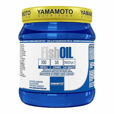 YAMAMOTO NUTRITION FISH OIL 200SOFTGELS - Farmacia Massaro