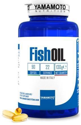 YAMAMOTO NUTRITION FISH OIL 90SOFTGELS - Farmacia Massaro