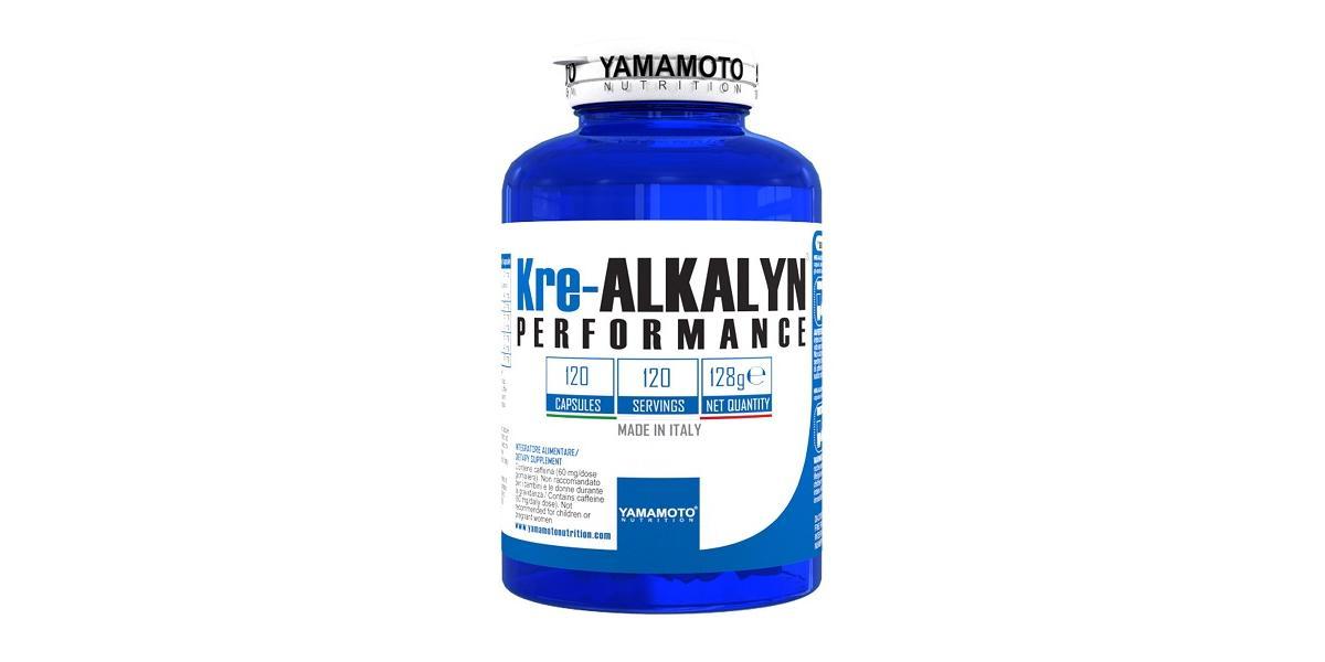 YAMAMOTO NUTRITION KRE ALKALYN PERFORMANCE 120 CAPSULE - Farmacia Massaro