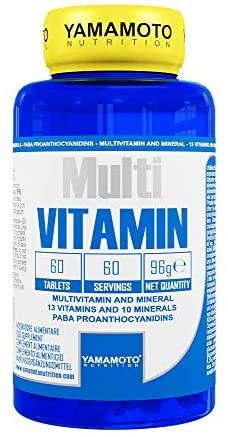 YAMAMOTO NUTRITION MULTI VITAMIN 60 COMPRESSE - Farmacia Massaro