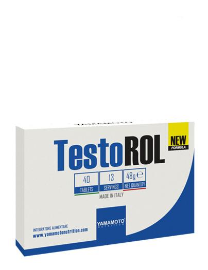 YAMAMOTO NUTRITION TESTOROL NEW FORMULA 40 COMPRESSE - Farmacia Massaro