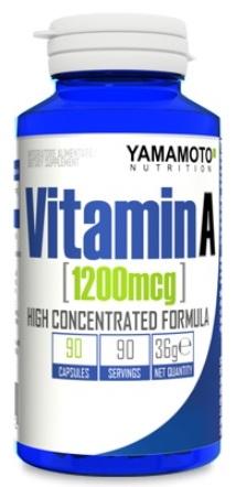 YAMAMOTO NUTRITION VITAMIN A 90 CAPSULE - Farmacia Massaro