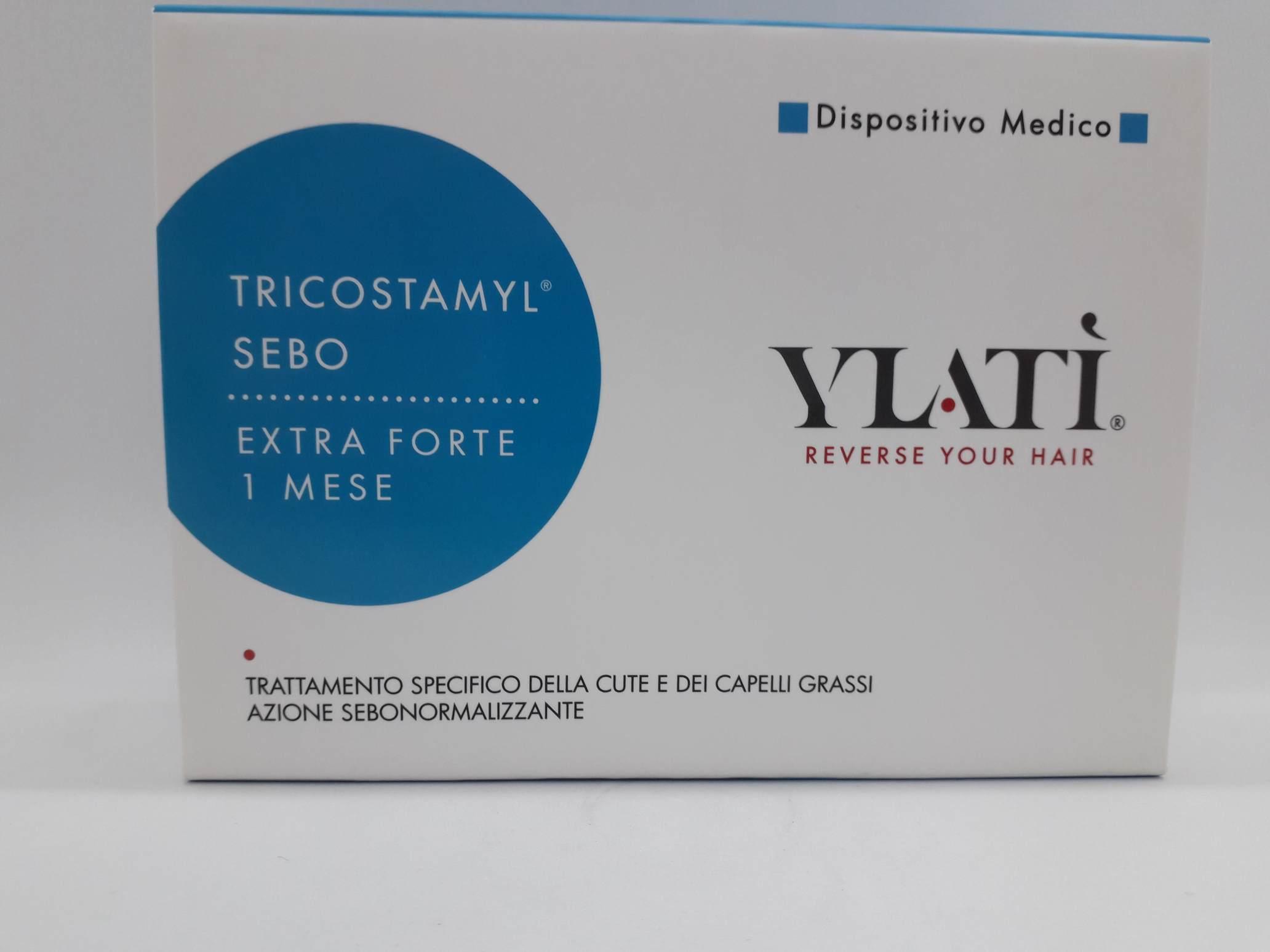 YLATI TRICOSTAMYL SEBO 30 ML MONODOSE DM 1 - Farmaciaempatica.it