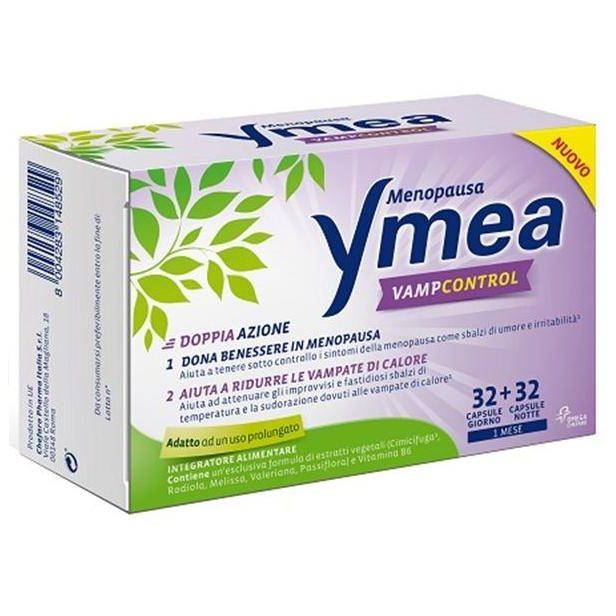 YMEA VAMP CONTROL 64 CAPSULE NUOVA FORMULA - latuafarmaciaonline.it