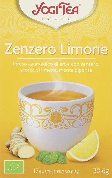 YOGI TEA ZENZERO LIMONE 31 G - farmaventura.it