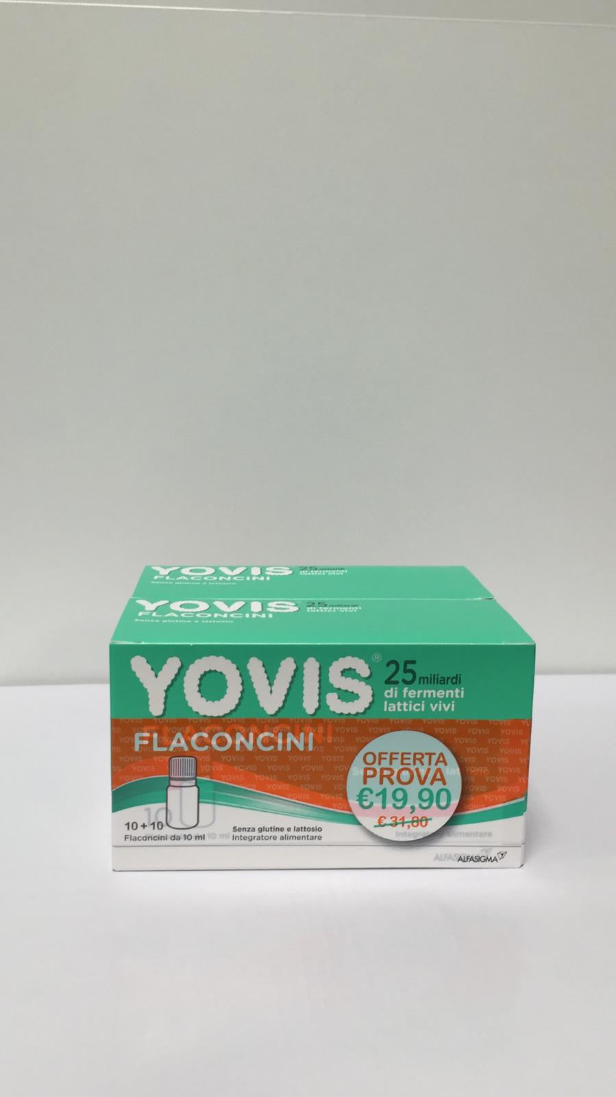 Yovis 20 Flaconcini da 10ml 2 Confezioni - Sempredisponibile.it