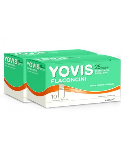 YOVIS 20 FLACONCINI DA 10 ML BIPACCO - Farmacia Castel del Monte