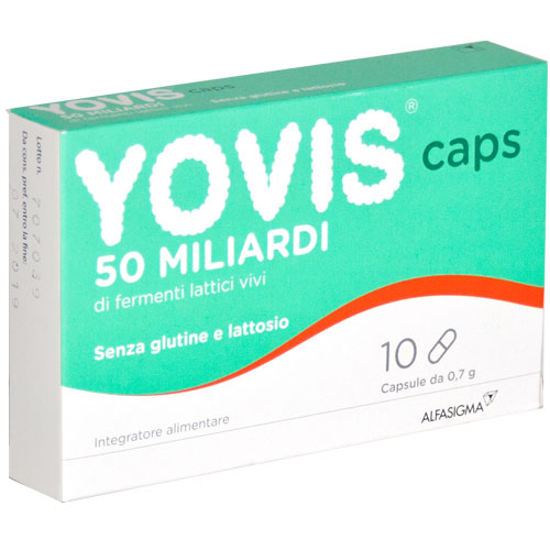 YOVIS CAPS 10 CAPSULE - Farmacia Centrale Dr. Monteleone Adriano
