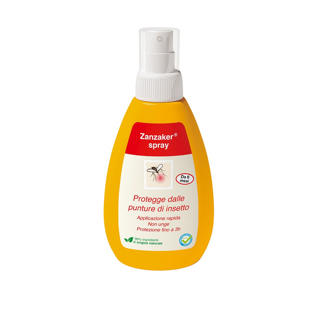 ZANZAKER SPRAY antirepellente 150ml - Farmapage.it