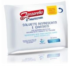 ZANZARELLA Z-PROTECTION 12 SALVIETTE RINFRESCANTI - Farmafamily.it