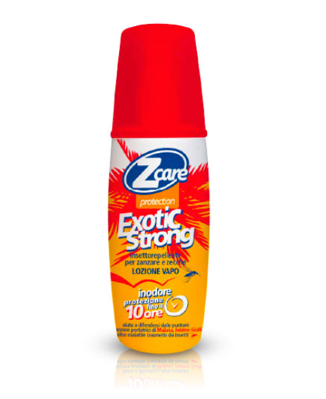 ZCARE PROTECTION EXOTIC STRONG DEET SPRAY 50% 100 ML - Farmapage.it