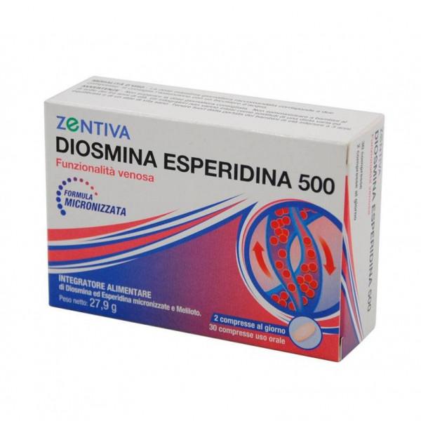 ZENTIVA DIOSMINA ESPERIDINA 500 30 COMPRESSE - farmasorriso.com