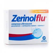 Zerinolflu Dispositivo Medico 20 Compresse Effervescenti - La tua farmacia online