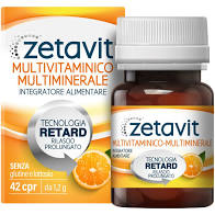 ZETAVIT MULTIVI MULTIMIN 42 COMPRESSE (equivalente del Supradyn/Multicentrum) - Farmajoy