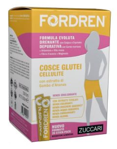 ZUCCARI FORDREN COSCE GLUTEI E CELLULITE 20 STICKS DA 10 ML - Farmacia 33