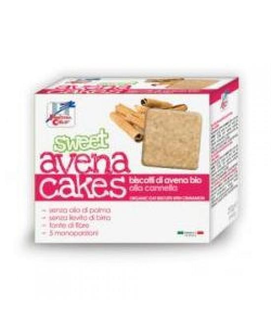 La Finestra Sul Cielo Sweet AvenaCakes Biscotti Di Avena Bio Con Cannella 250 g offerta