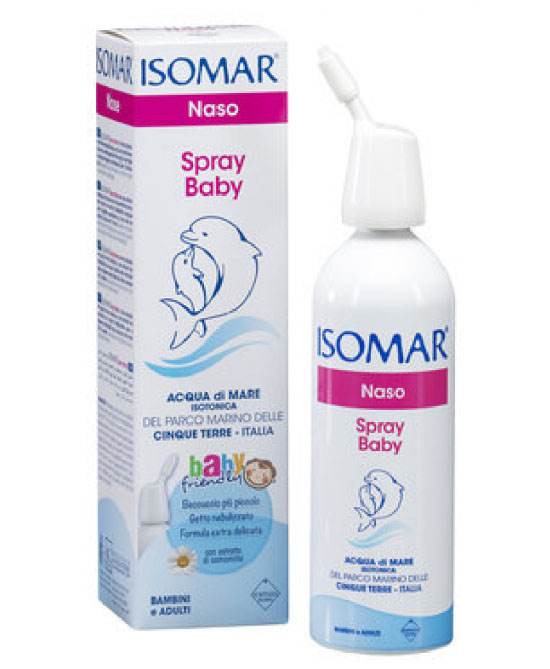 Isomar Spray Baby Con Camomilla 100ml - Iltuobenessereonline.it