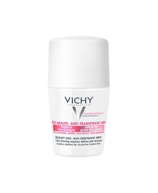 Vichy Deodorante Bellezza Roll-on Antitraspirante Pelle Sensibile o Depilata 50 ml