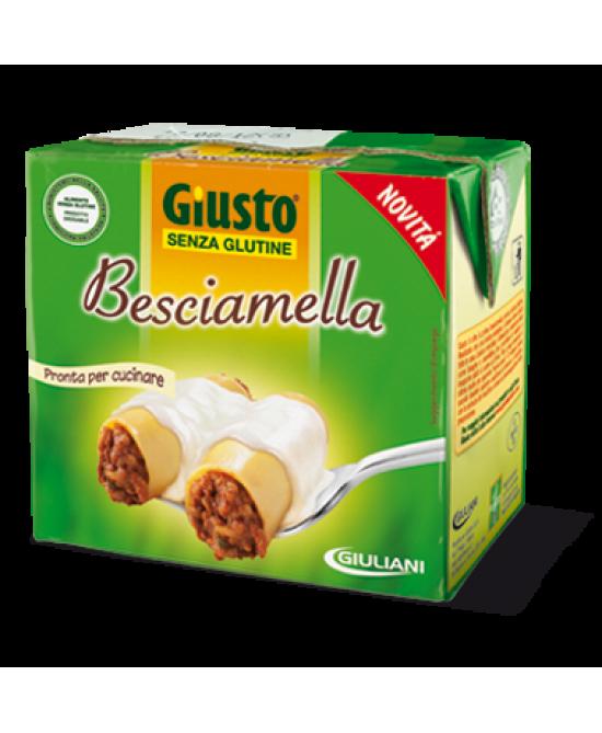 Giusto Besciamella Senza Glutine 500ml - Farmapc.it
