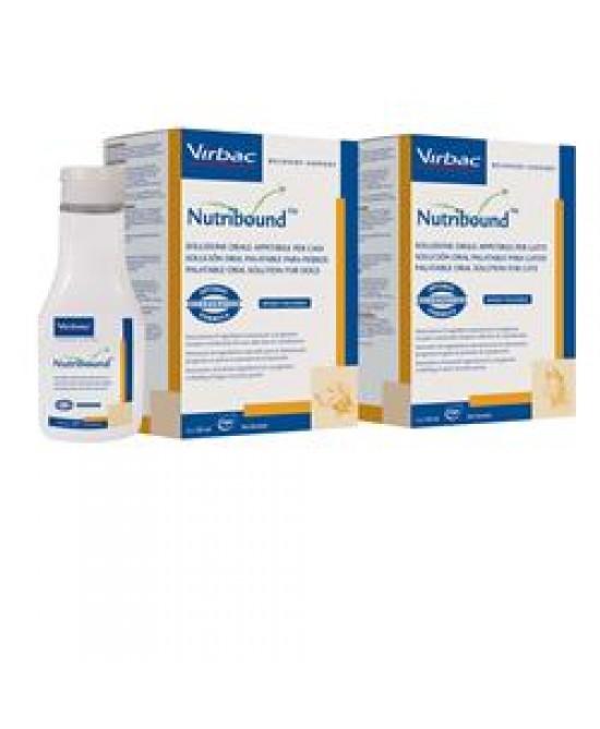 Virbac Nutribound Gatti Integratore Convalescenza 3 Flaconi da 150 ml
