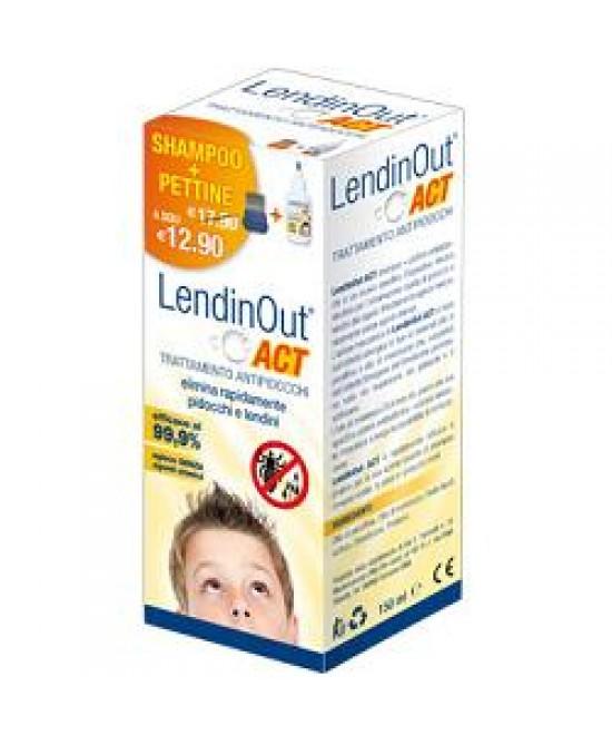 Lendinout Act Antipidocchi 150ml - Farmapage.it