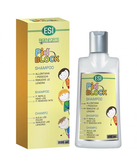 Pid Block Shampoo 200ml - Parafarmacia Tranchina