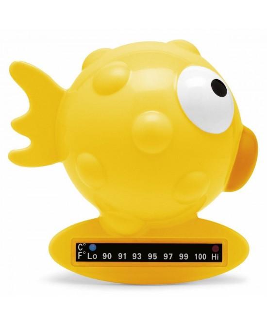 Chicco Indicatore Di Temperatura Da Bagno Pesce Palla Rosa - La farmacia digitale