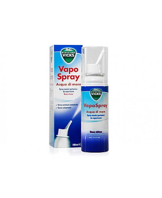 Vicks Vapo Spray Acqua Di Mare Ipertonico 100ml - Farmastar.it