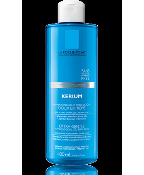 La Roche-Posay Kerium Dolcezza Estrema Shampoo-Gel Fisiologico 400ml - Farmabellezza.it