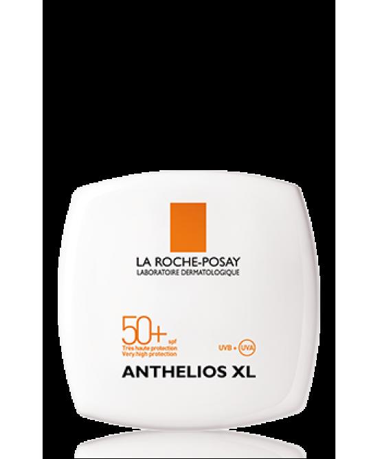 La Roche-Posay Anthelios XL Crema Compatta Uniformante SPF50+ Protezione Molto Alta Ultra UVA Tonalità 02 Confezione 9g - farmaventura.it