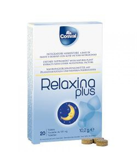 Relaxina Plus Integratore 20 Tavolette
