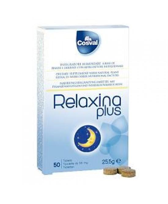 Relaxina Plus 50tav - keintegratore.com