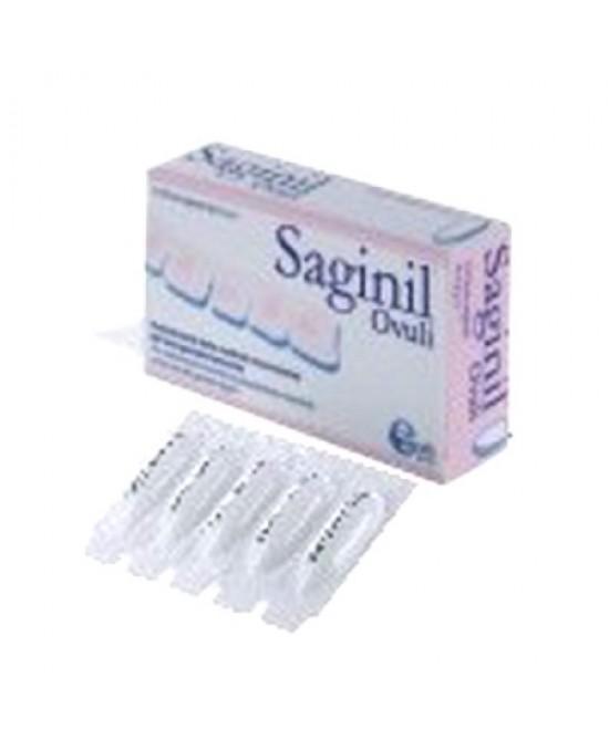 Saginil Ovuli Vaginali 10pz - Farmacia 33