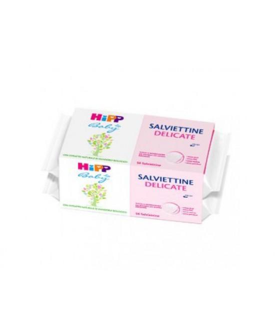 HiPP Baby Salviettine Delicate Pacco Scorta 2x56 Salviette - Farmacistaclick