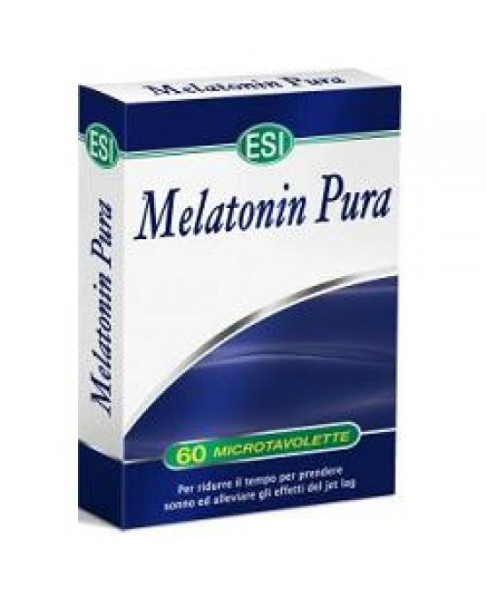 Esi Melatonin Pura 60 Microtavolette - Farmaciaempatica.it