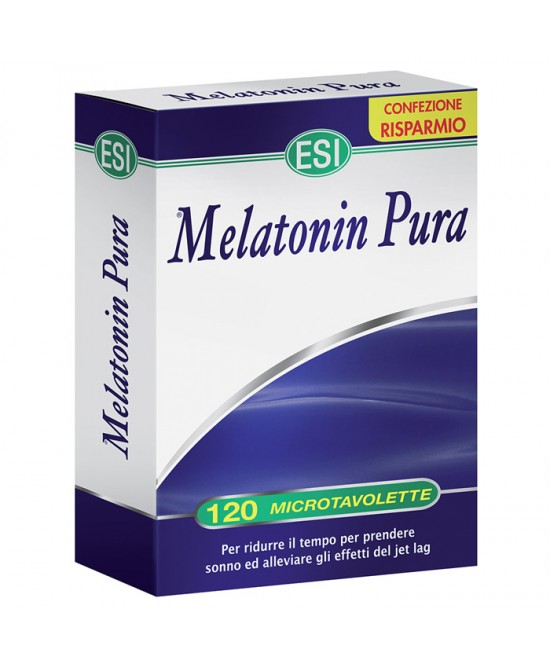 Esi Melatonin Pura 120 microtavolette - Farmajoy