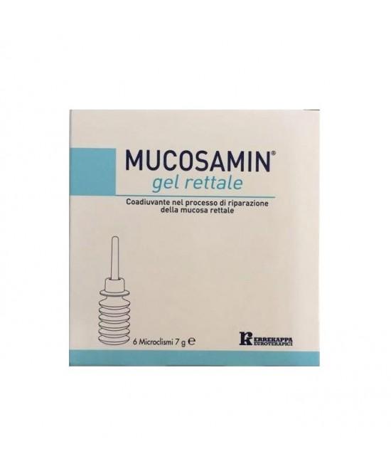 Mucosamin Gel Rettale Coadiuvante Nel Processo Di Riparazione Della Mucosa Rettale 6 Microclismi - Farmapage.it