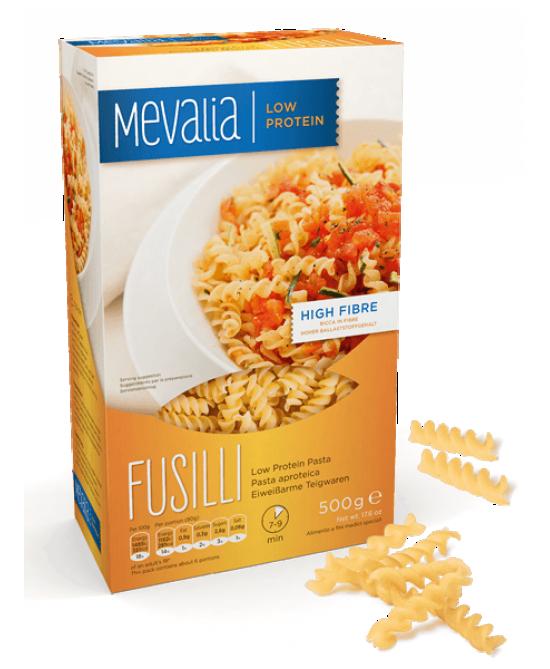 Mevalia Pasta Aproteica Fusilli 500g - Farmastar.it