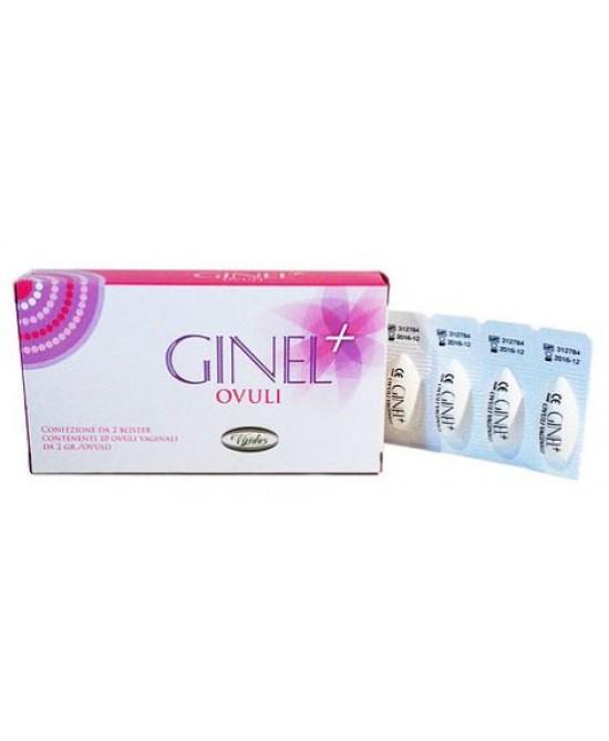 Ginel Plus 10 Ovuli Vaginali - Speedyfarma.it