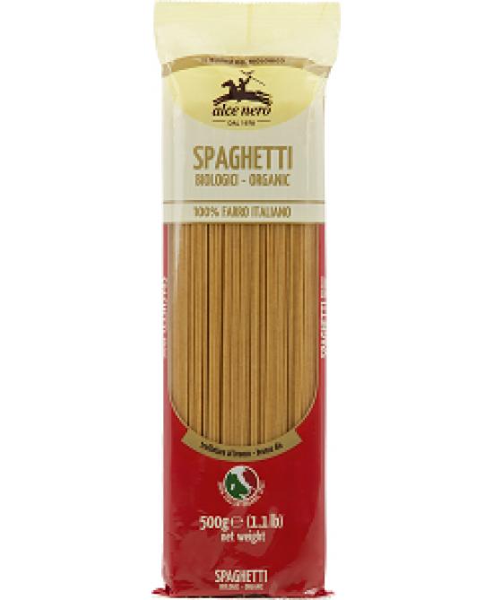 Alce Nero Spaghetti 100% Farro Italiano Biologici 500 g