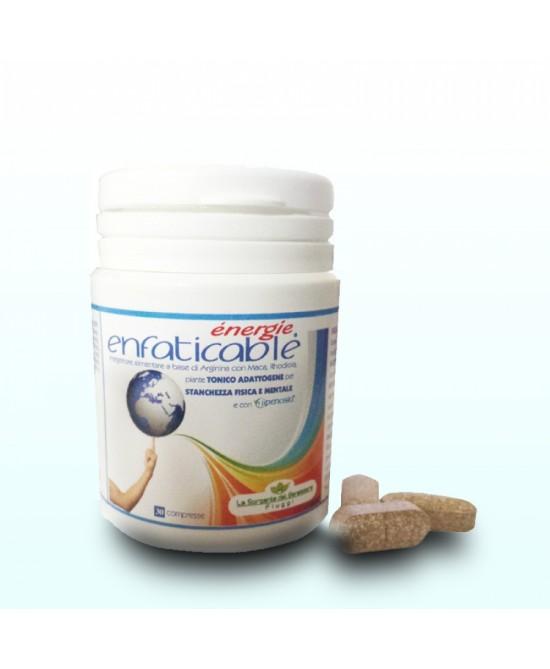 ENERGIE ENFATICABLE 30 COMPRESSE 30 G - Farmaseller